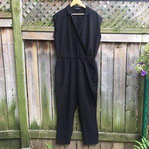Willow & Thread black jumpsuit - size 18